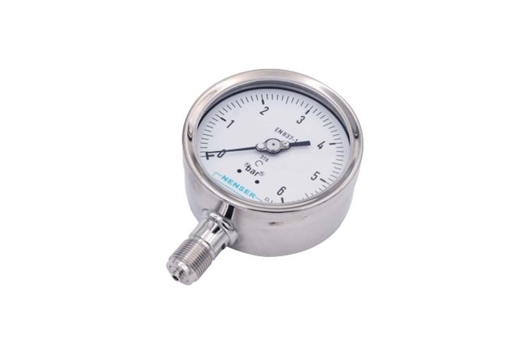工业型波登管压力表